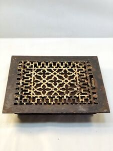 Antique Tuttle Bailey Cast Iron Heat Register Vent Grate Ornate 1886 Victorian