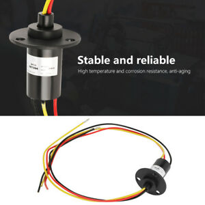 250rpm 15a Mini Slip Ring 3 Wires 0 600v For Wind Turbine Wind Power Generator