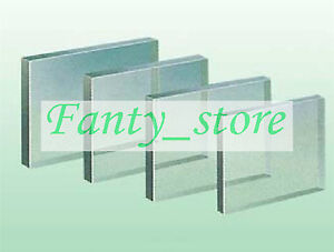 1pcs Radiation Safety X Ray Protective Lead Glass Sheet 400mm 300mm 8mm ae6g Lw