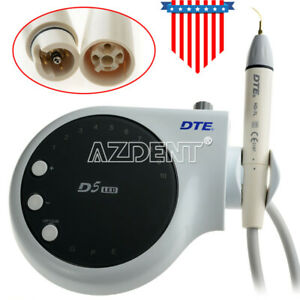 Woodpecker Dte D5 Ultrasonic Piezo Scaler Led Scaler Fit Satelec S P E 6 Tips