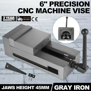 6 Cnc Vise Gray Cast Iron Clamping Fixed Jaw Vertical High Accuracy Cast Iron