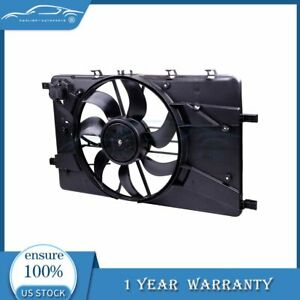 For 2011 2016 Chevy Cruze 1 4 1 8l 12v Radiator Ac Condenser Plastic Cooling Fan