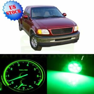 For Ford F 150 Green Instrument Cluster Panel Bulbs Climate Control Led Set