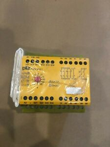 Pilz Pnoz Xv3 1 24 240vacdc 774610 Time Monitoring Safety Relay New