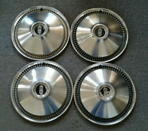1966 66 Oldsmobile Olds Cruiser 88 98 14 14 Inch Hubcaps Wheelcovers