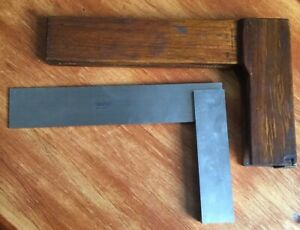 Lufkin Machinist Square 166 6 W Wood Case 166 6