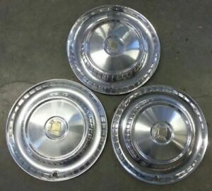 1957 57 Dodge Lancer 14 14 Inch Hubcaps Wheelcovers Mopar