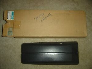 1970 1972 Chevrolet Chevelle Ss Ls5 Ls6 396 454 Monte Carlo Nos Gm Console Door