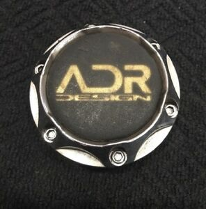 Adr C340 1 Chrome Custom Wheel Center Rim Cap Lug Hub Cover Aftermarket Am258
