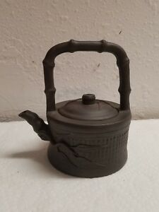 Yixing Teapot Bamboo Tree Design One Of A Kind