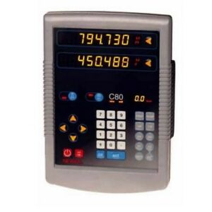 Newall C80 Dro Keypad Replacement Service 2 And 3 Axis
