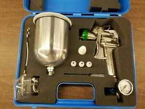 Hvlp Paint Spray Gun 1 5mm With Accessories New Unused In Carry Case