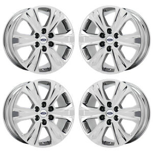 20 Ford Expedition F150 Truck Pvd Chrome Wheels Rims Factory Oem Set 3992