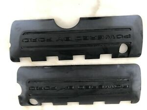 2016 2019 Shelby Gt350 Gt 350 Powered By Ford Black Engine Coil Covers Pair