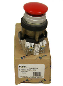 Eaton Ht8cbrab Push pull Operator 2 Position Red No nc New In Box