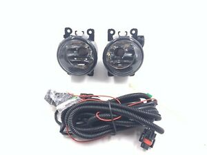 For 16 17 Honda Pilot Clear Lens Pair Oe Fog Light Lamp wiring switch Kit Pair