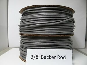 3 8 Closed Cell Foam Backer Rod 2100 Ft Expansion Joint