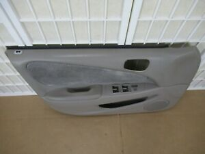 98 02 Toyota Corolla S Interior Right Front Black Power Door Panel Drivers Side