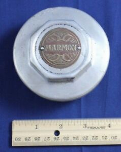 Vintage Hub Marmon Cap Dust Cover Grease Car Tire Hubcap Octagon Thread Original