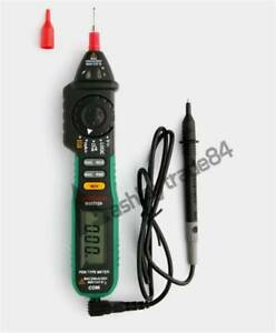 New 1pc Ms8212a Pen Type Digital Multimeter Dc Ac Voltage Current Tester