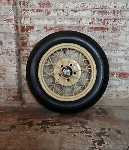 Ford Model A Original 1920 30s Wire Spoke Wheel W Insa Tire