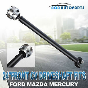 Complete Front Cv Driveshaft For Ford Explorer 97 01 5 0l Engine Only 24 Wtw