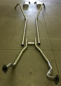 1958 Ford Thunderbird Dual Exhaust 304 Stainless 352 Engines Only
