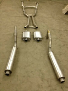 1968 1970 B Body Exhaust System Aluminized 426 Hemi Engines With Resonators