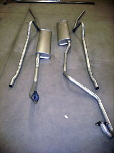 1949 1951 Mercury Hardtop Dual Conversion 304 Stainless Exhaust System