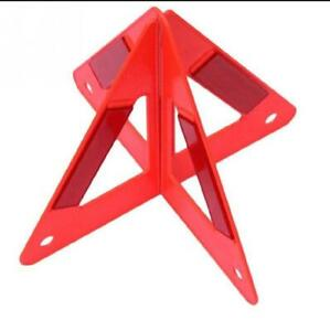 Car Reflective Triangle Warning Board Sign Triangle Emergency Road Safety
