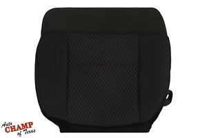2007 2008 Ford F150 Fx4 Fx2 Sport Driver Side Bottom Cloth Seat Cover Black
