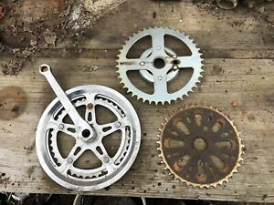 Lot Of 3 Bicycle Gears Vintage Industrial Machine Age Steampunk Decor Art