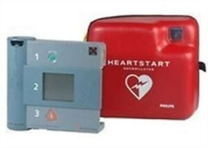 Philips Heartstart Fr1 Forerunner Aed W Battery Adult Pads Biocertified