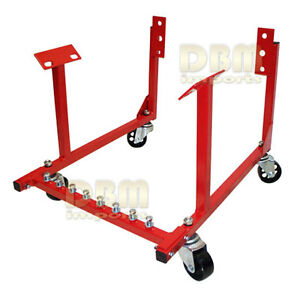 1000 Lbs Engine Cradle Stand Dolly Dollies For Car Truck Chevy Chrysler