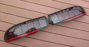 1993 1997 Firebird Formula Trans Am Ws6 Tail Light Lt1 Checkered Style Set Grid