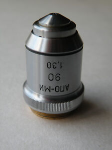 Lomo Objective Apo 90x 1 30 Oil Spring Loaded Microscope Zeiss