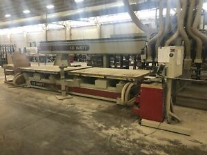 Komo Vr 1605tt 5 X 8 Twin Table Multi Spindle Cnc Router