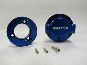 Obx Blue Fuel Pump Racing Hex drive 3600hp Gas 1800hp Ethanol Orb 10 In out