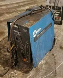 Miller Millermatic 200 Cv Dc Mig Welding Power Source wire Feeder