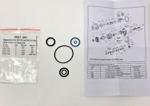 Ingersoll Rand O Ring Kit For Ir2135 Ir2131 Impact Wrenches