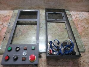 Brother Tc 217 Cnc Tapping Cetner Vertical Mill Main Operator Control Panel
