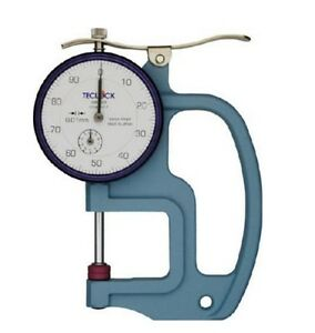 Teclock Thickness Gauges 0 20mm Sm 528 Made In Japan