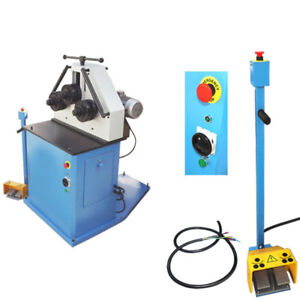 3 Phase Asynchronous 2hp Hv Ring Roller Pinch Roll Bender Bending Steel Machine