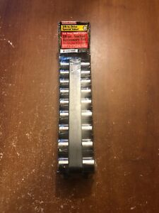 Vintage Craftsman 3 8 Drive Deep Metric Sae Socket Sets 34551 Usa