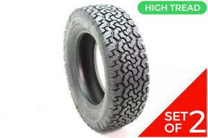 Set Of 2 Retread 215 65r16 Equipe 4x4 A T 105s 15 32
