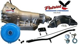 Turbo 400 Th400 Transmission Conversion Kit Stage3 High Stall Converter W fluid