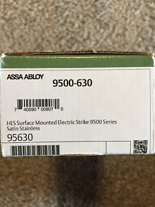 Hes 9500 630 Surface Electric Strike 12 24vdc Fail Secure