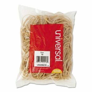 Rubber Bands Size 18 3 X 1 16 400 Bands 1 4lb Pack 40 Pack