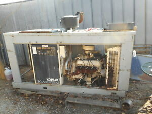 Kohler Gm Propane 50 Kw Generator Been Sitting For A Few Years We Can Ship