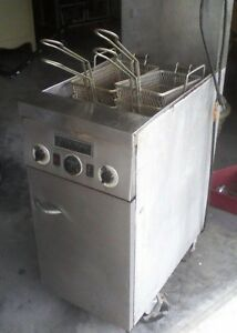 Fryer Commercial Deep Fryer Floor Model Natural Gas Electric Auto Basket Lift